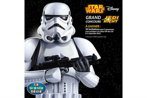 "Star Wars : La Grande Récré invite à la ""Jedi Night"" 