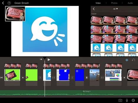 Le « App Smashing » pour optimiser le potentiel créatif du iPad - Édulogia | Les appareils mobiles en classe | Scoop.it