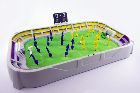The World Cup And 3D Printing Merge: 5 Amazing World Cup 3D Prints | 3d printers and 3d scanners | Scoop.it