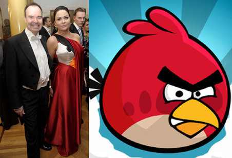 Wife of Rovio chief wears Angry Birds dress to the Finnish Palace - Telegraph | Fashion Technology Designers & Startups | Scoop.it