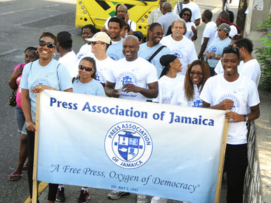 Journalists march for press freedom - Regional media workers call for criminal ... - Jamaica Gleaner | NGOs in Human Rights, Peace and Development | Scoop.it
