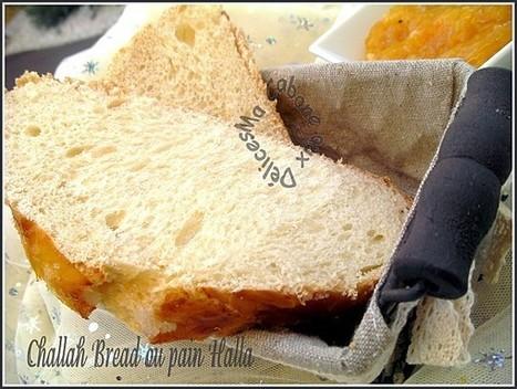 Pain Challah, pain juif de shabbat   La cuisine de Djouza recettes faciles et rapides   Boulange   Scoop.it