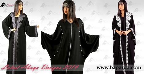 Latest Style Abaya Collection Dubai Abayas in Pakistan | Axtr.net | Scoop.it