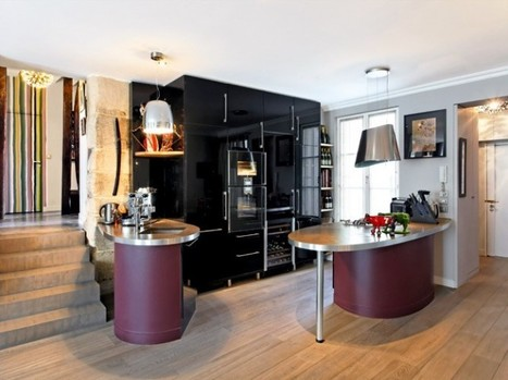 4 exemples pour rendre une cuisine de 8m² accueillante ? | IMMOBILIER 2015 | Scoop.it