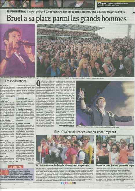 Sésame Festival !! Article du Dauphiné Libéré du 5 juillet | Montélimar Agglo Festival 2014 | Scoop.it