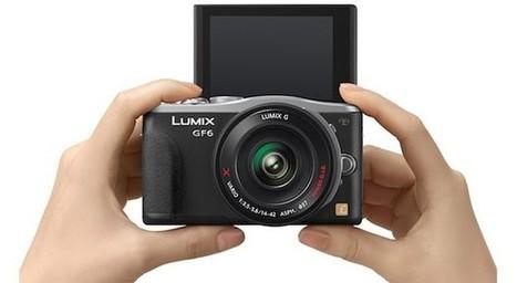 Panasonic's 16-megapixel Lumix DMC-GF6 official with wireless sharing, flip screen | Photo : Lumix G MFT | Scoop.it