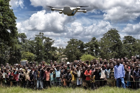 Humanitarian efforts benefit from drones as ethical debate continues | drones | Scoop.it