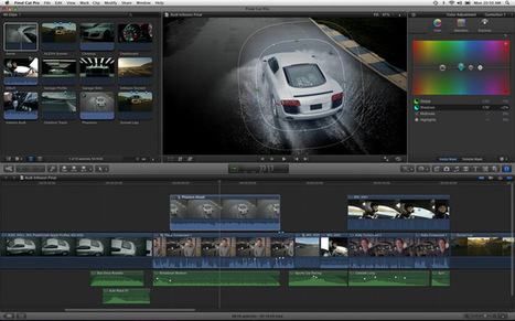 Bon Anniversaire Final Cut Pro X : 5 ans déjà ! | 100% e-Media | Scoop.it