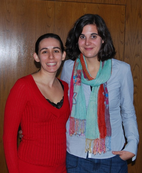 Andie Faber and Maria Turrero at UUSLAW | The UMass Amherst Spanish & Portuguese Program Newsletter | Scoop.it