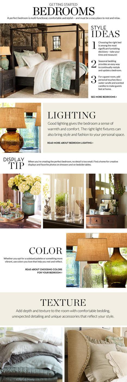 Bedroom Decorating Ideas | Bedroom Decorating Decor | Pottery Barn | Bedroom Design Ideas | Scoop.it