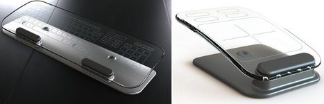 Glass multi-touch keyboard and mouse look amazing | Technology and Gadgets | Scoop.it