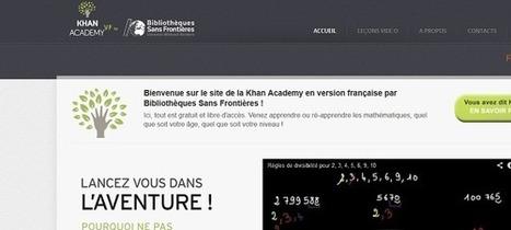 La Khan Academy, plateforme d'éducation gratuite, arrive en France | Scoop4learning | Scoop.it