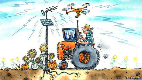 Unused TV spectrum and drones could help make smart farms a reality | Drone in Agriculture | Scoop.it