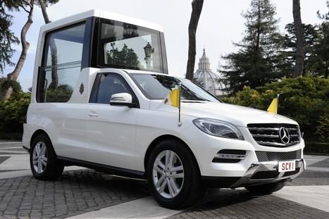 Une nouvelle Papamobile signée Mercedes pour Benoit XVI | Locita.com | Tout le web | Scoop.it