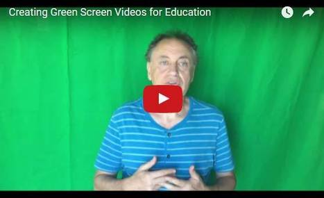 Learn How to Create Engaging Green Screen Videos with Students | Education Technology - theory & practice | Scoop.it