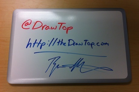 Turn the top of your laptop into a whiteboard with DrawTop | ZDNet | Art 2.0 | Scoop.it