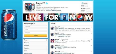 Pepsi Brings Live Concerts To Their Twitter Followers | Social 5150 | Scoop.it