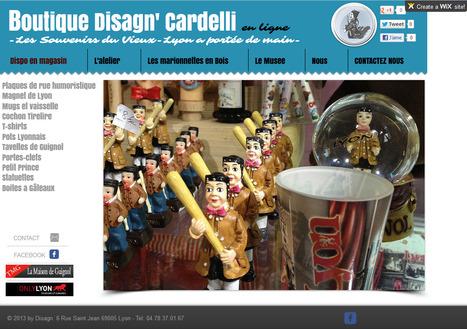 La Boutique Cardelli - Guignol du Vieux-Lyon fait peau neuve avec un site 100% WIX | Astuces numériques des pros du tourisme du Rhône | Scoop.it