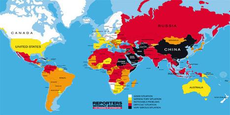 Indice de liberté de la presse : l'Égypte se classe 159e sur 180 | Égypt-actus | Scoop.it