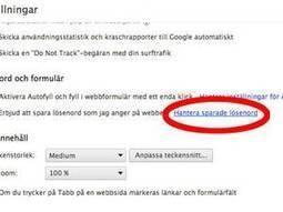 Googles miss visar alla dina lösenord | Skolbiblioteket och lärande | Scoop.it