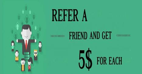 Recommend your favorite service to your Friends and get $5 each. | Us2guntur | Scoop.it