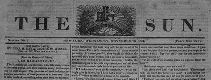 1833 Benjamin Day- Penny-Papers - A Disruptive Innovation | A Cultural History of Advertising | Scoop.it