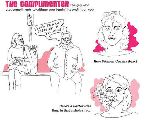 Street Harassment by Cienna Madrid, Anna Minard, Mary P. Traverse, Emily Nokes and Brittany Kusa | Feminism | Scoop.it