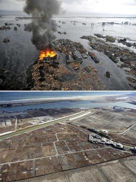 Fukushima, avant et après la reconstruction : photos | Japon : séisme, tsunami & conséquences | Scoop.it