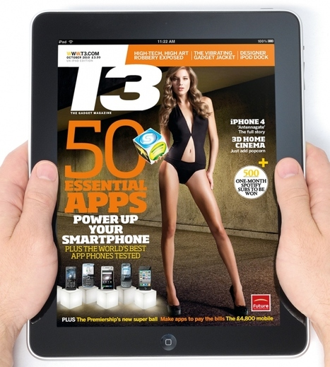 Future has made £5 million from iPad magazines in a year | Digital Tablet Publishing | Scoop.it