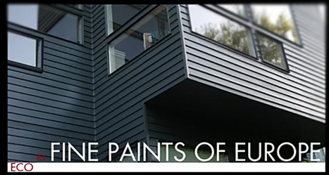 Painting Fine Paints of Europe on Seattle Residence Video | The Colorfull House | Scoop.it