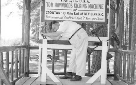 "Kicking machine caught on in eastern N.C. | Oriental - ""The Sailing Capital of North Carolina"" | Scoop.it"