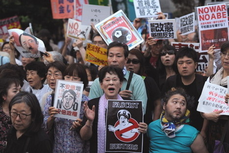 Japan ends pacifist security policy | Asia-Pacific developments | Scoop.it