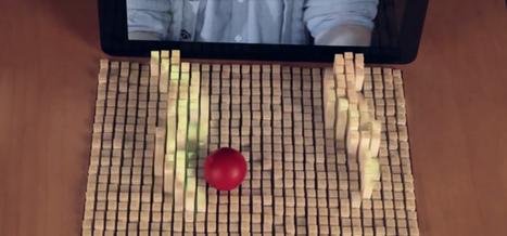 REGARDS SUR LE NUMERIQUE | Une surface pour manipuler des objets à distance | Great Ideas, great projects | Scoop.it
