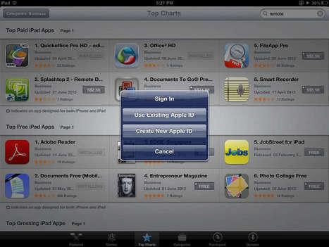 iPadworkshops en het probleem met gebruikersaccounts | Nieuwe Blogs | Scoop.it