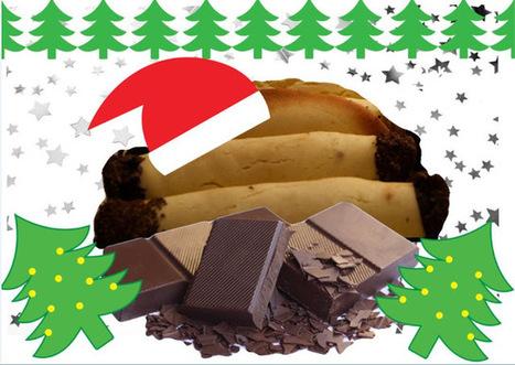 Recette de cigares de Noël au chocolat, rahmteig (Autriche) | Desserts street food | Scoop.it