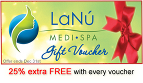 Exciting Gift Voucher to Treat your Loved Ones this Christmas at LaNu Medi Spa | Luxury Spa, Wellness and Beauty Experience | Scoop.it