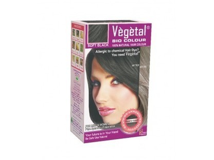 Buy Vegetal Bio Hair Colour (Soft Black) Online - Vegetal Hair Dye | Herbal and Natural Hair Color | Scoop.it
