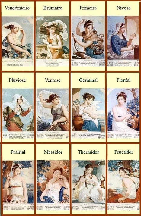 24 novembre 1793 - Publication du calendrier révolutionnaire - Aujourd'hui, l'éphéméride d'Archimède | Nos Racines | Scoop.it