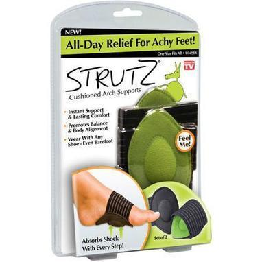 "Strutz Cushioned Arch Supports ""As Seen on TV"" [REVIEWS] 