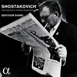 Classique d'aujourd'hui, blog d'actualité de la musique classique et contemporaine: CD : Les Quatuors à cordes de Chostakovitch par le Quatuor Danel - Alpha 226 | Alpha Classics | Scoop.it