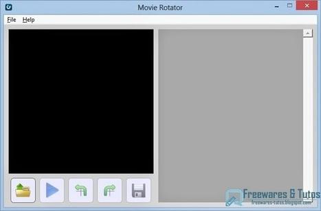 Movie Rotator : un logiciel gratuit pour faire pivoter les vidéos   Freewares   Scoop.it