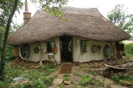 Pictured: Hobbit-style eco-friendly house built from scratch for just £150 - Mirror.co.uk | Ancient Origins of Science | Scoop.it
