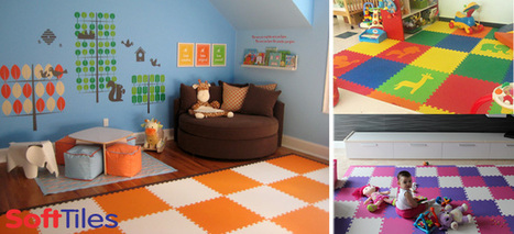 Children's Foam Play Mats | Kids Playroom Flooring | Soft Floor Mats for Kids | Love My Baby | Scoop.it