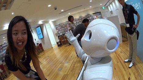 Le robot Pepper en vente aux USA à partir de l'été 2015 | Une nouvelle civilisation de Robots | Scoop.it