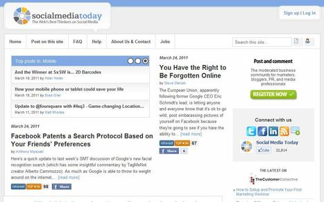 Social Media Today | Top sites for journalists | Scoop.it