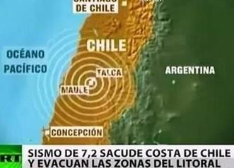 Chili : Le pays a tremblé hier, la population a eu une grosse frayeur | Risques et Catastrophes naturelles dans le monde | Scoop.it