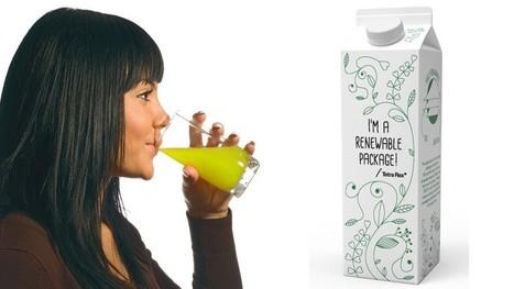 Primer envase de Tetra Pak hecho de origen vegetal - VeoVerde | Green Stuff. | Scoop.it
