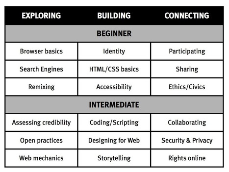 Web Literacy Standard: a modest proposal (#weblitstd) | APRENDIZAJE | Scoop.it
