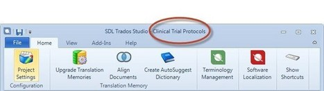 SDL Trados Studio 2014: new features for beginners (by Emma Goldsmith) | Translator Tools | Scoop.it