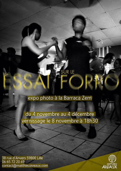 ESSAI SUR LE FORRÓ – MATTHIEU AVEAUX « La Barraca Zem ... | J'aime Wazemmes | Scoop.it